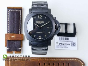 VS厂复刻新版沛纳海PAM438陶瓷材质腕表会不会一眼假