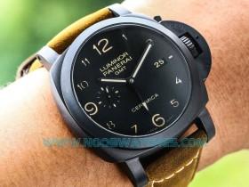 VS厂V2版沛纳海PAM441陶瓷GMT-腕表做工如何
