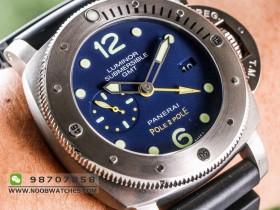 品鉴VS厂沛纳海PAM719钛合金GMT多功能腕表